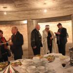 Poczęstunek po uroczystości odznaczonych