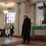 Przemawia na uroczystości Zasłużony dla tolerancji muzułmanin Zbigniew Żuk