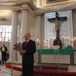 Przemawia prezes EUTW R. Michalak odznaczony Zasłużony dla tolerancji