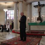 Przemawia w imieniu odznaczonego Zasłużony dla tolerancji D. Ciupały prezes z Fundacji Św. Cyryla i Metodego