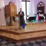 Solistka na nabożeństwie ŚDM