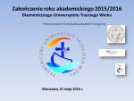 Logo zakończenia roku EUTW